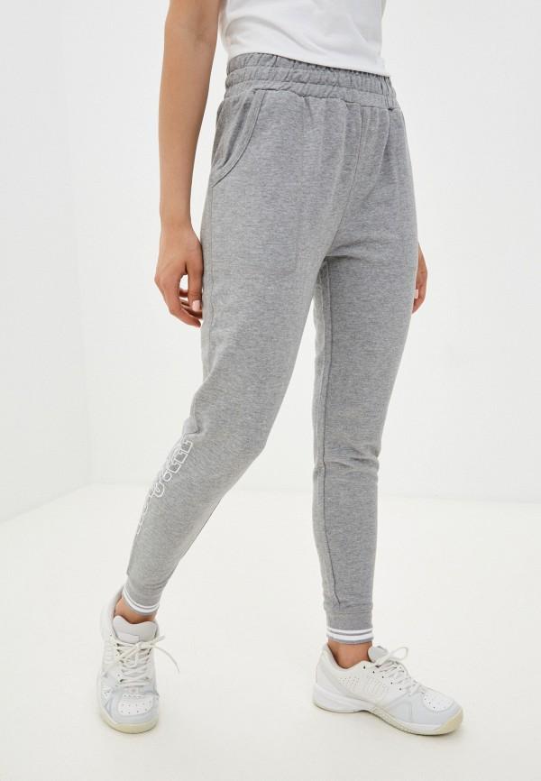 женские спортивные брюки wilson, серые