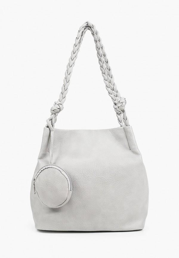 женский кошелёк с ручками aaquamarina, серый