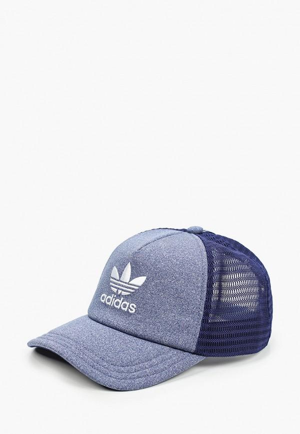 женская бейсболка adidas, голубая