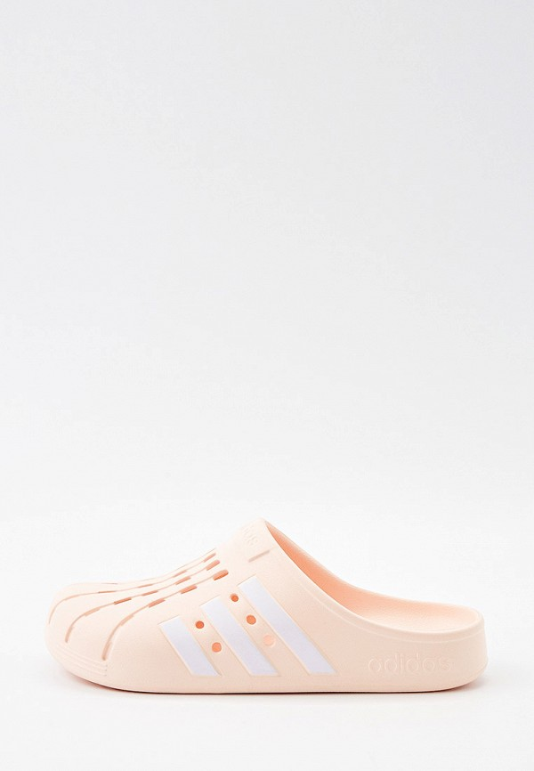 мужское сабо adidas, розовое