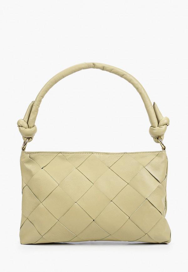 женская сумка topshop, зеленая
