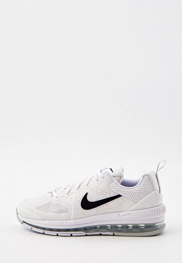 мужские низкие кроссовки nike, белые
