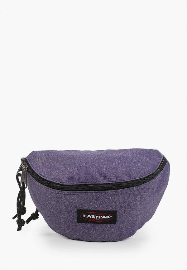 женская поясные сумка eastpak, фиолетовая