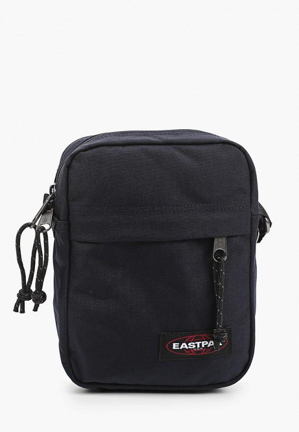 мужская сумка через плечо eastpak, синяя