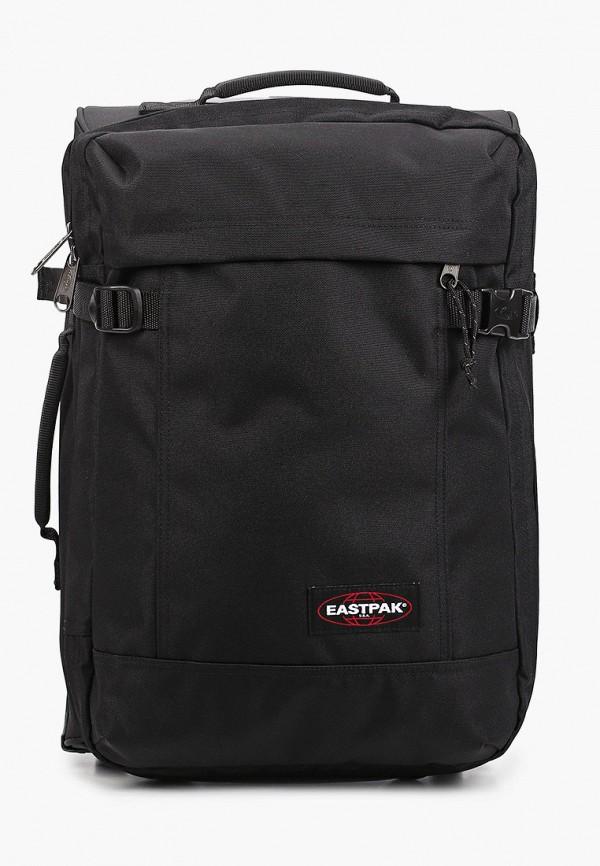 женский чемодан eastpak, черный