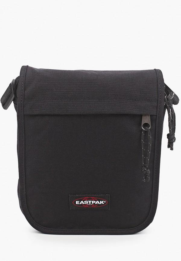 мужская сумка через плечо eastpak, черная