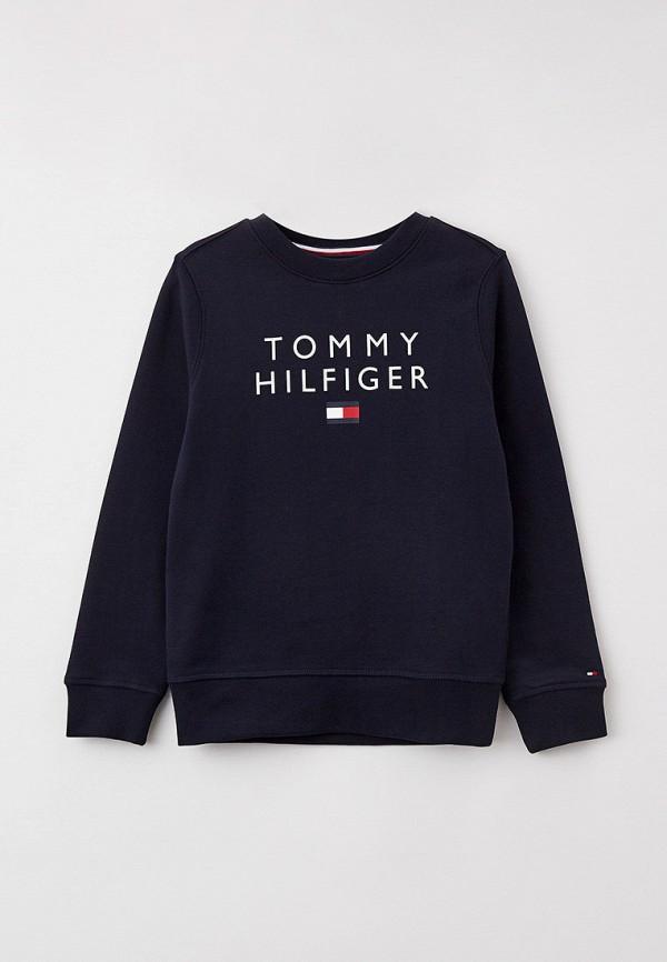 Свитшот Tommy Hilfiger синего цвета
