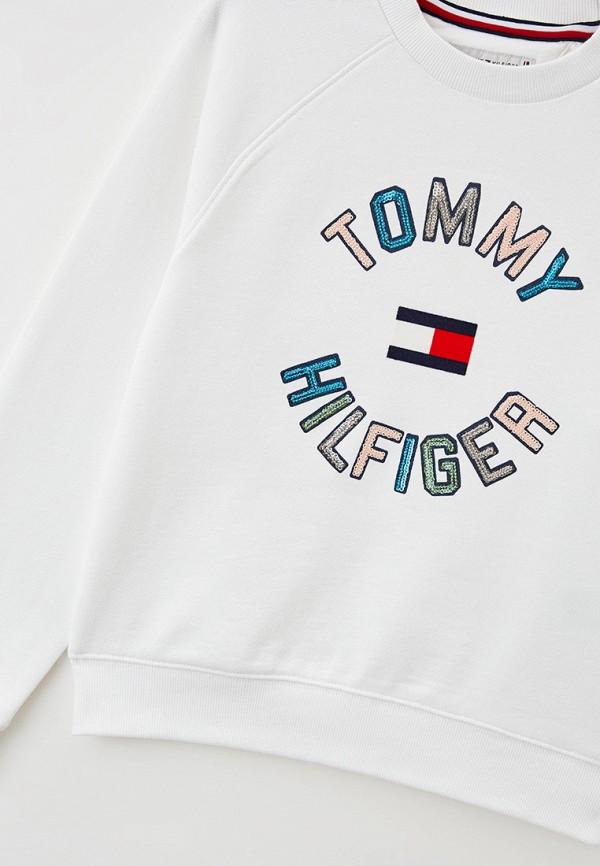 Свитшот Tommy Hilfiger белый KG0KG05678 RTLAAK723201