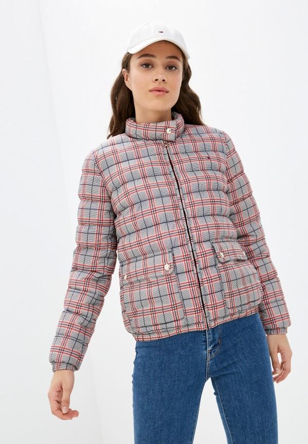 Куртка утепленная Tommy Hilfiger разноцветного цвета