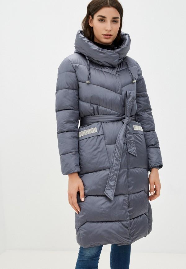 женская утепленные куртка aaquamarina, серая