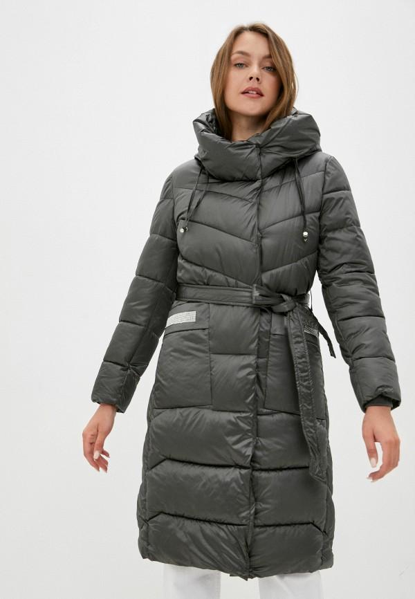 женская утепленные куртка aaquamarina, зеленая
