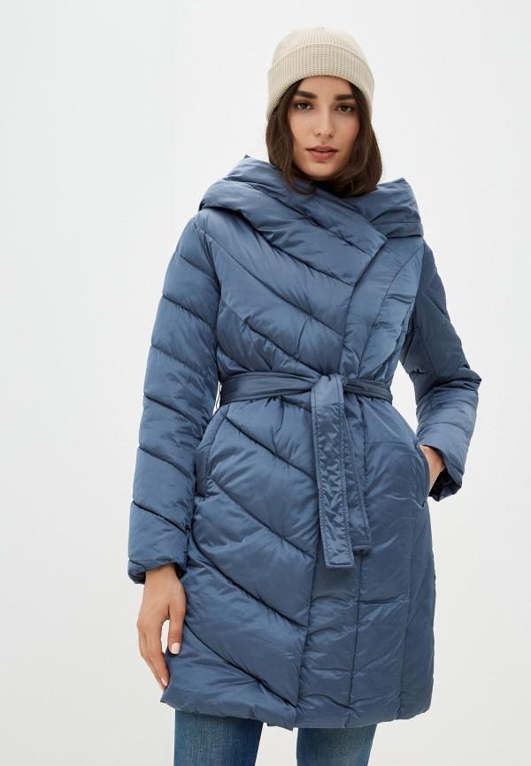 женская утепленные куртка aaquamarina, голубая
