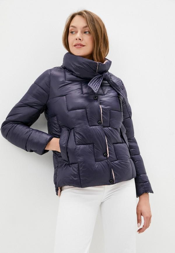 женская утепленные куртка aaquamarina, синяя