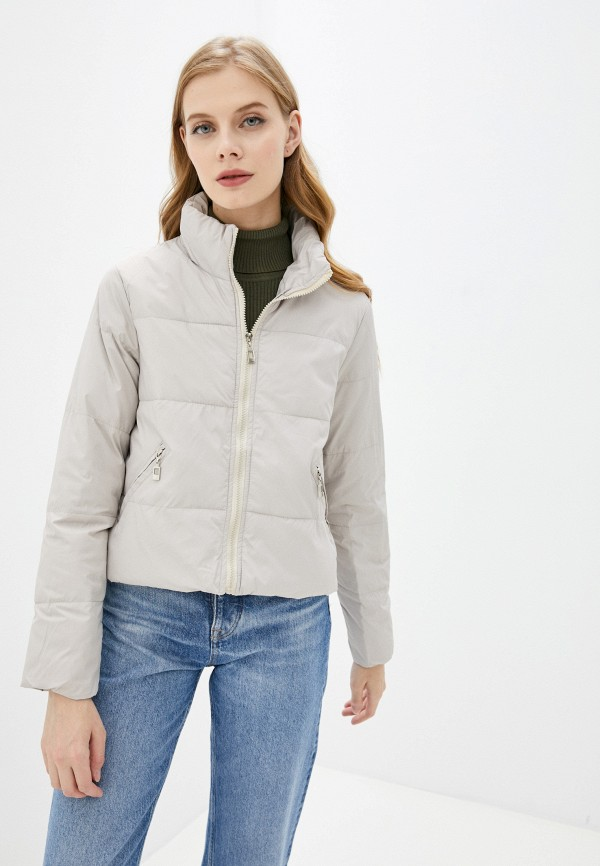 женская утепленные куртка aaquamarina, бежевая