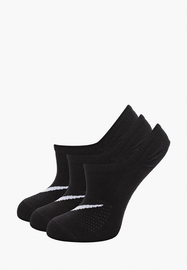 Носки 3 пары Nike черного цвета