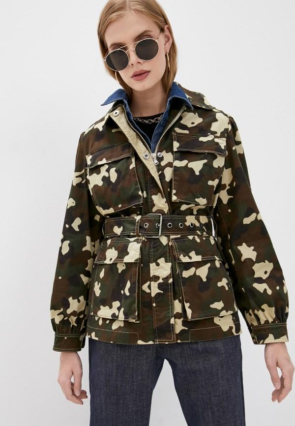 женская легкие куртка pinko, хаки