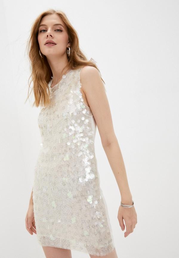 женское вечерние платье pinko, белое
