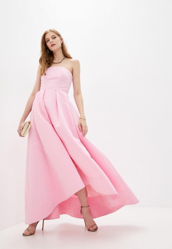 женское вечерние платье pinko, розовое