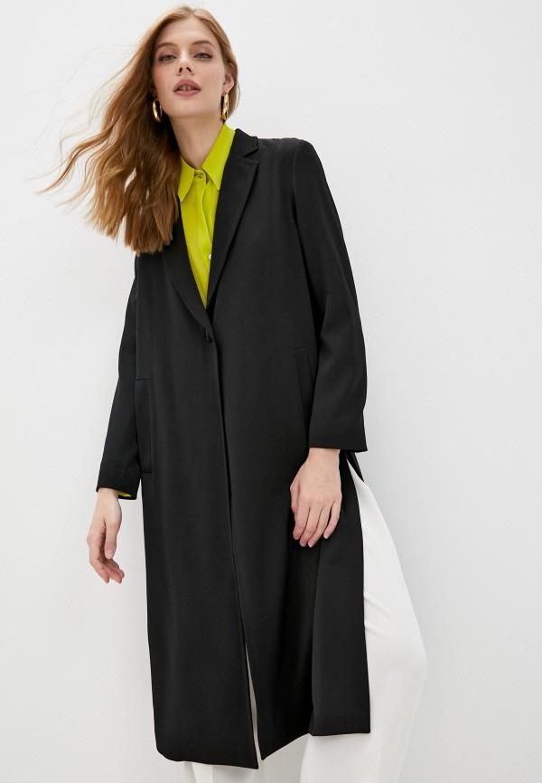 женское пальто pinko, черное