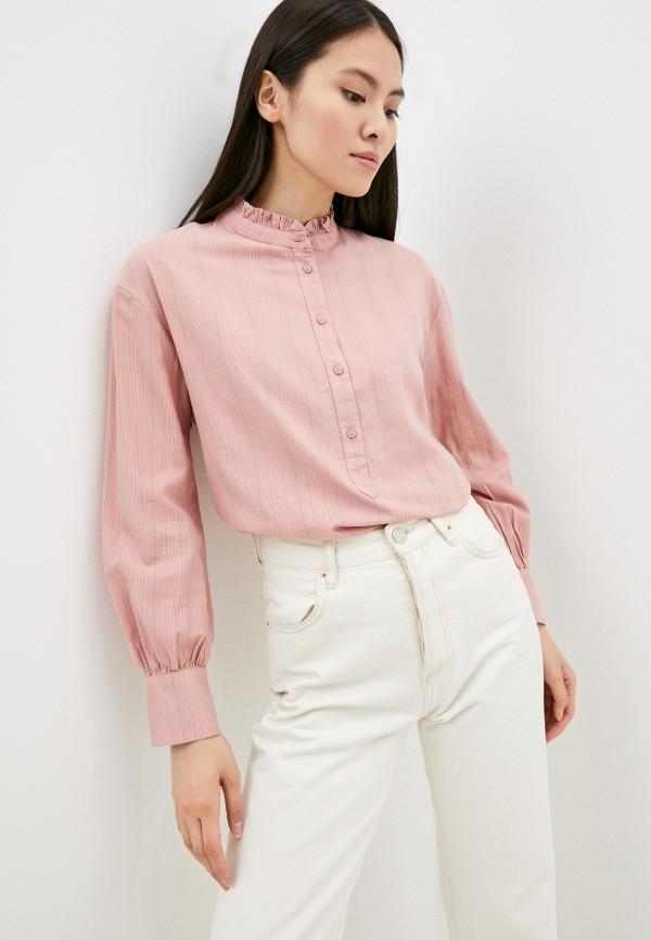Блуза Marks & Spencer розового цвета