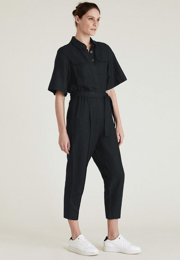 Комбинезон Marks & Spencer черного цвета