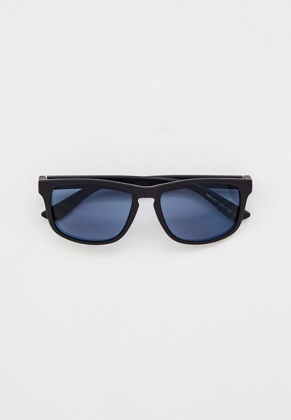 мужские квадратные солнцезащитные очки marks & spencer, черные