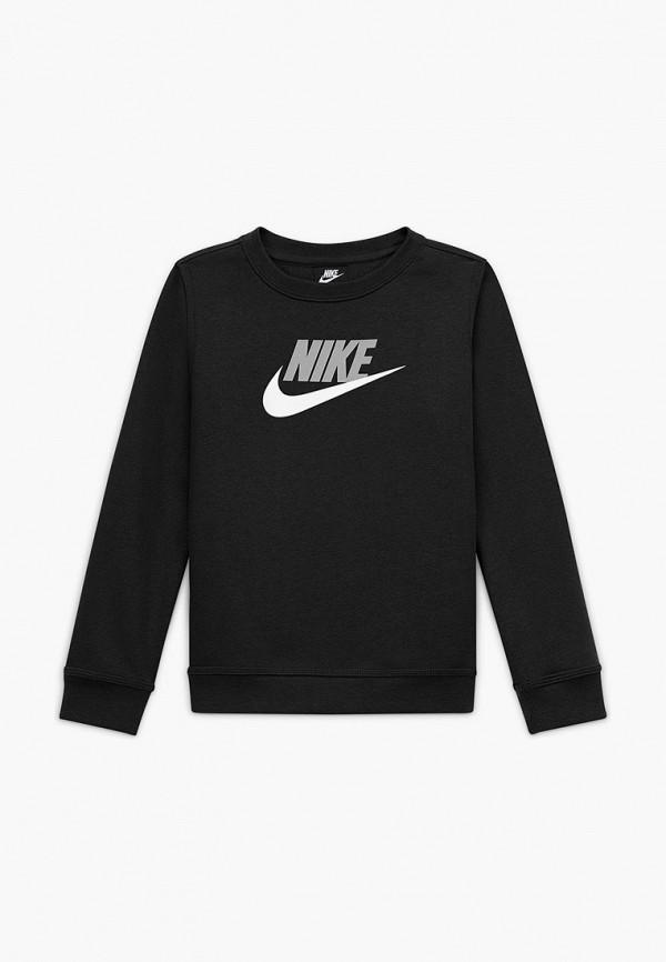 Свитшот Nike черного цвета