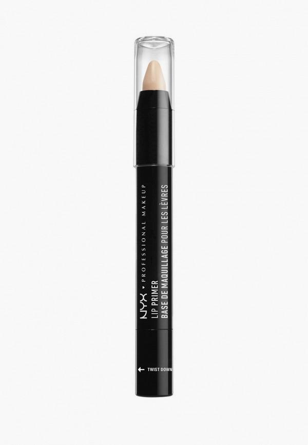 женская помада nyx professional makeup, белая