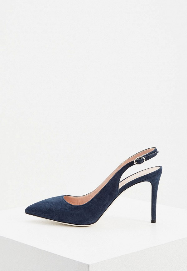 Туфли Pollini синего цвета