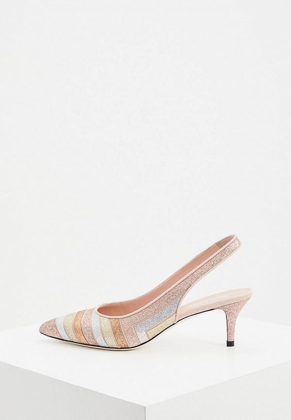 Туфли Pollini розового цвета