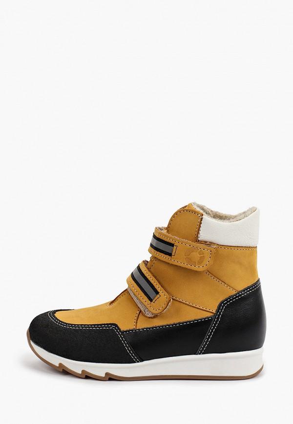 ботинки tapiboo для девочки, бежевые