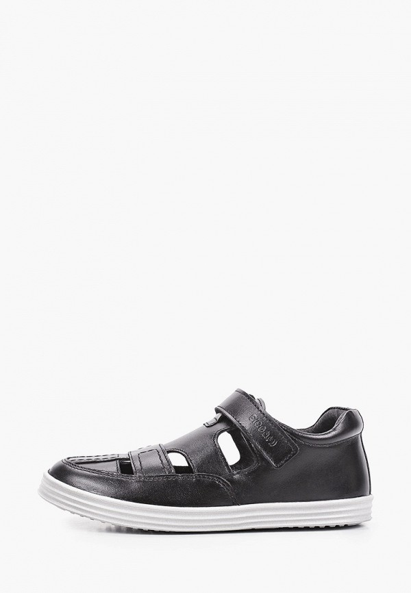 сандалии elegami для мальчика, черные