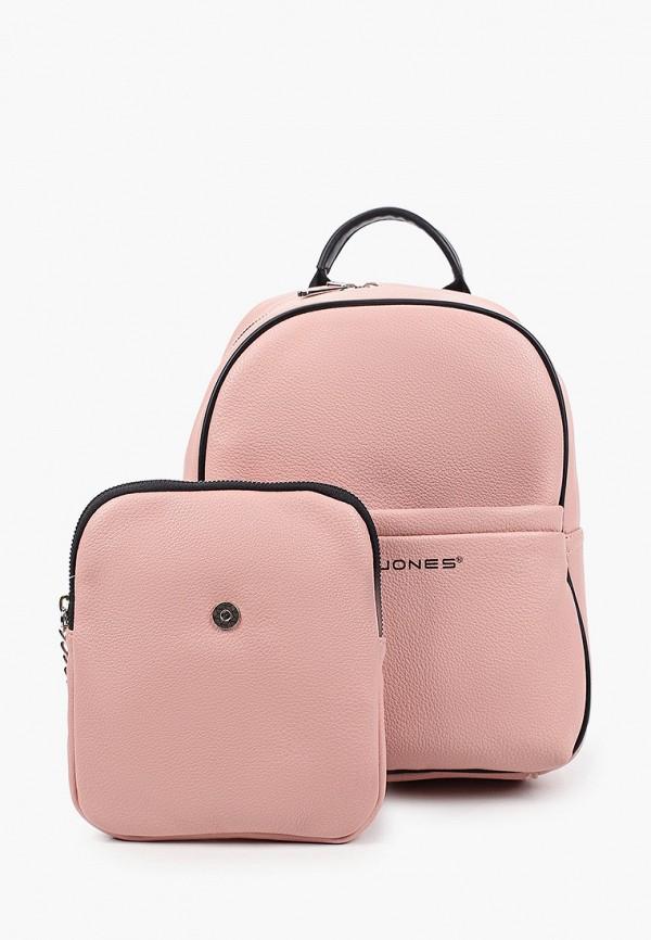 женский кошелёк david jones, розовый