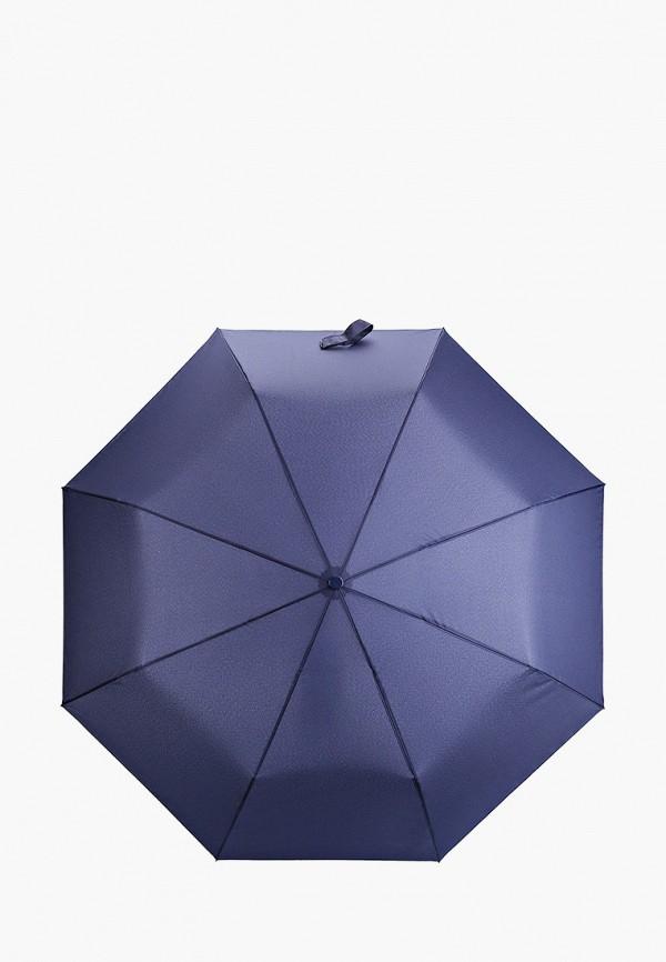 женский складные зонт mango, синий