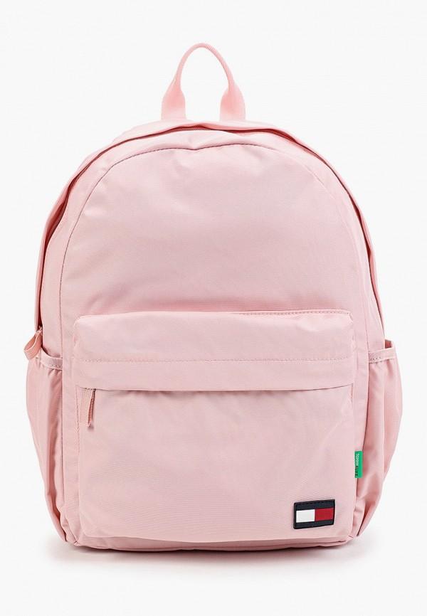 рюкзак tommy hilfiger для девочки, розовый