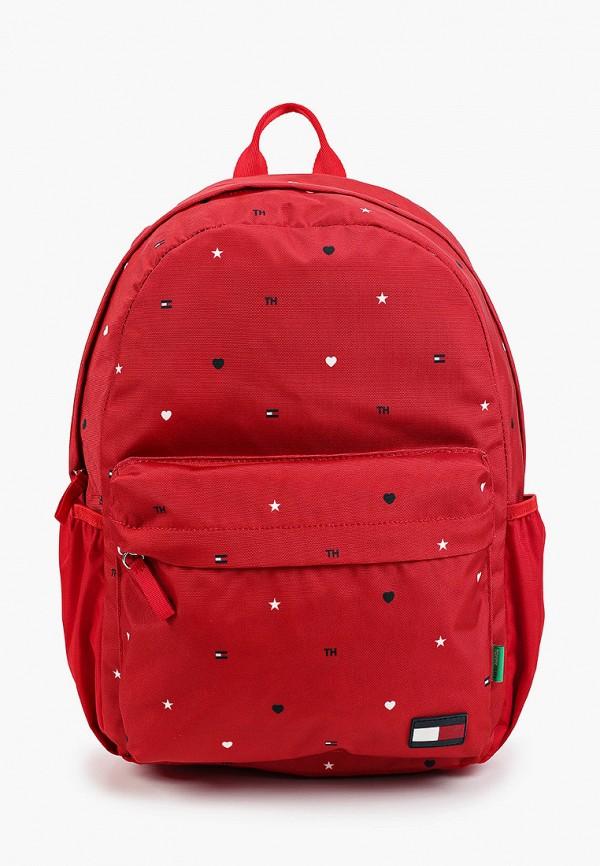 Рюкзак Tommy Hilfiger красного цвета