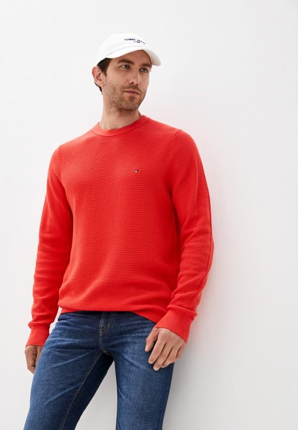 Джемпер Tommy Hilfiger красного цвета