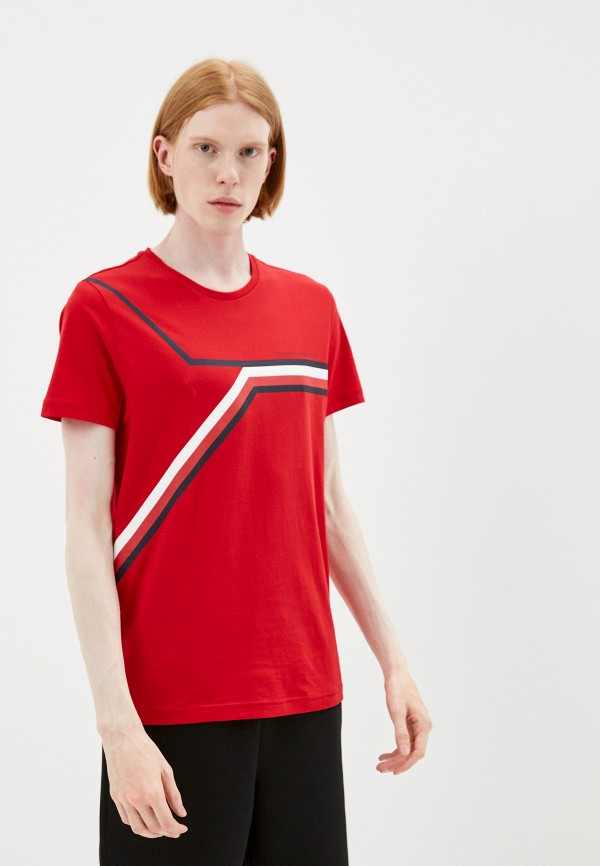 Футболка Tommy Hilfiger красного цвета