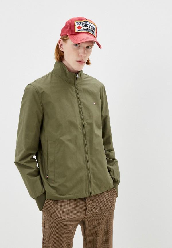 Куртка Tommy Hilfiger коричневого цвета