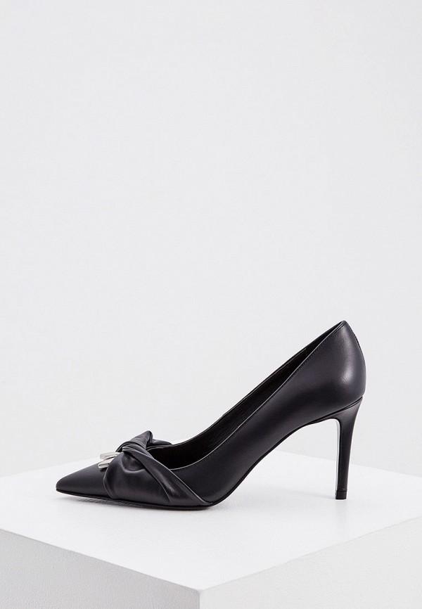 женские туфли-лодочки patrizia pepe, черные