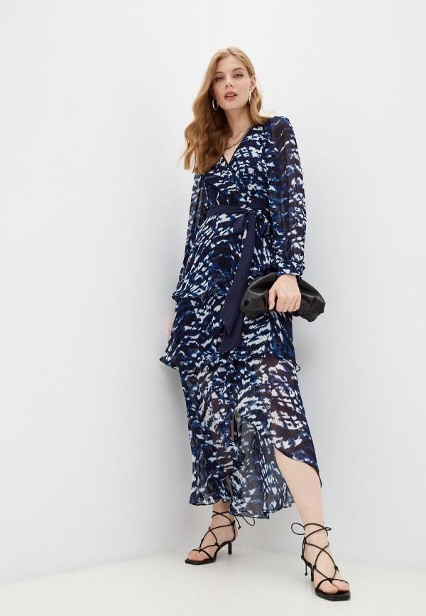 Платье Diane von Furstenberg синего цвета