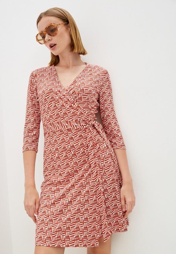 Платье Diane von Furstenberg красного цвета