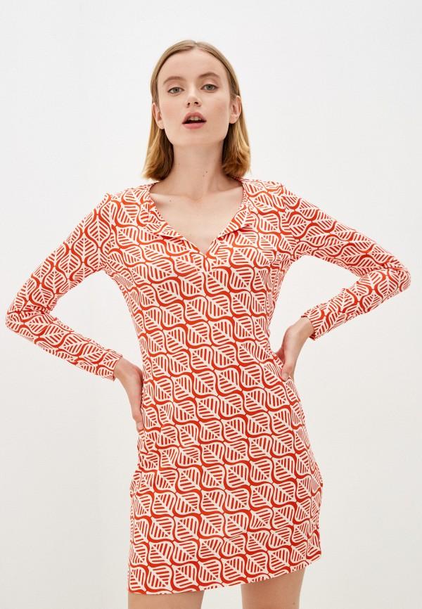 Платье Diane von Furstenberg разноцветного цвета