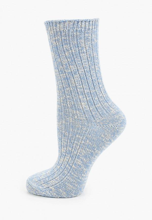 женские носки mango, голубые