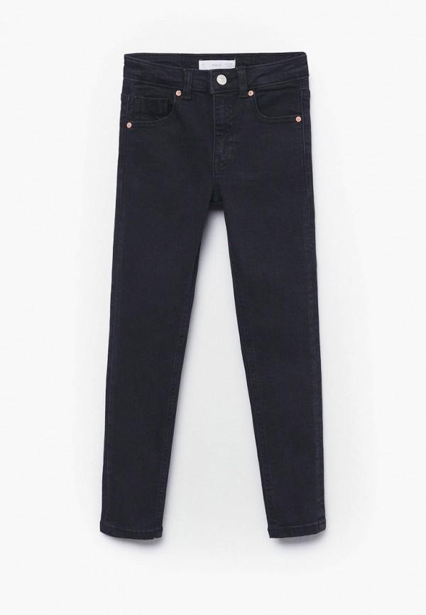джинсы скинни mango kids для девочки, серые