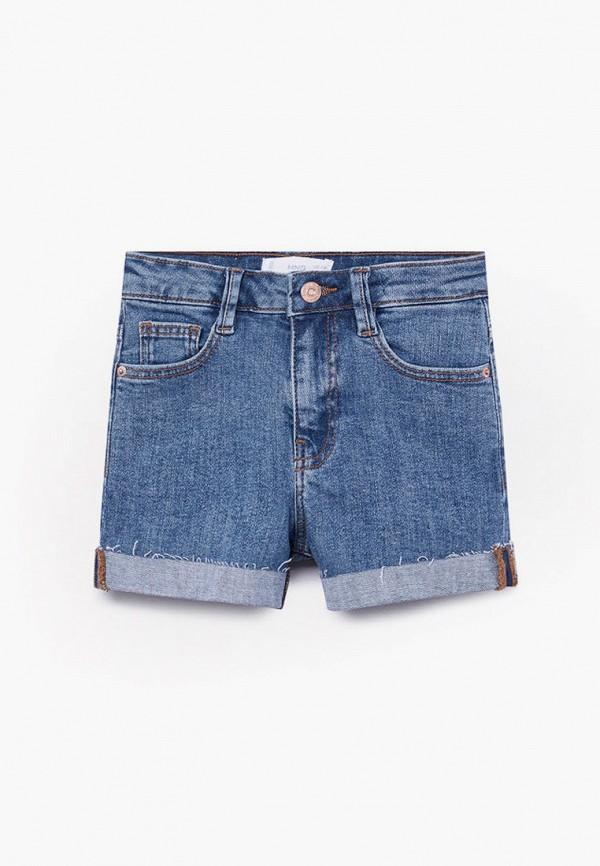 шорты mango kids для девочки, синие