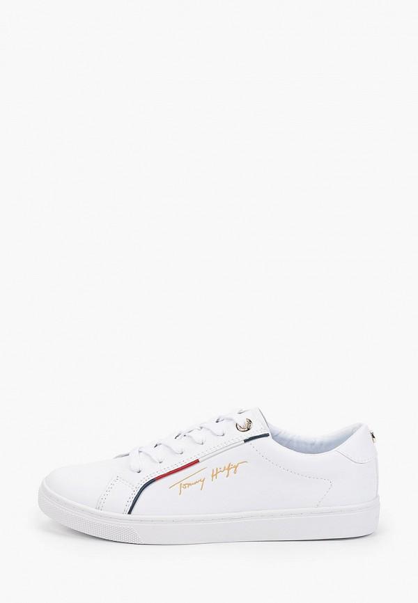 Кеды Tommy Hilfiger белого цвета