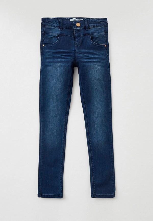 джинсы name it для девочки, синие