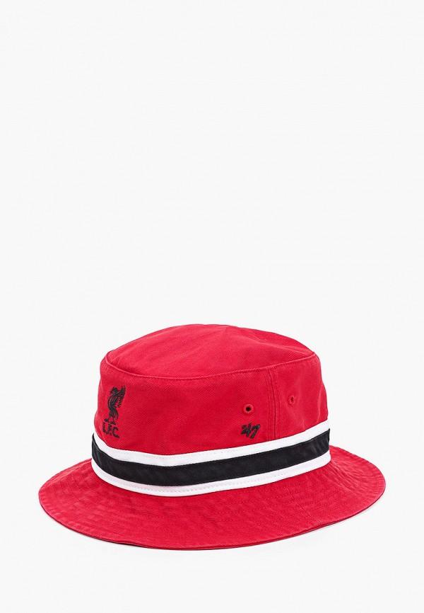 женская панама '47 brand, красная