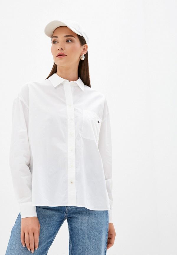 Рубашка Tommy Hilfiger белого цвета